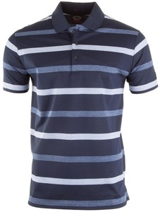 Paul & Shark Summer Stripe Polo Navy