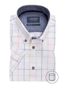 Ledûb Short Sleeve Button Down Multicolor