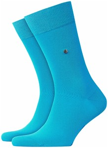 Burlington Lord Socks Turquoise Melange