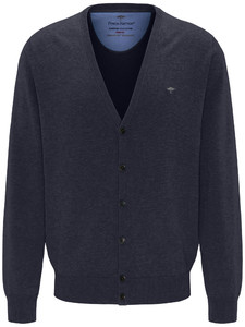 Fynch-Hatton Uni Cardigan Button Navy