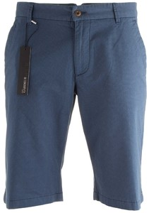 Gardeur Jasper Fine Structured Stretch Bermuda Mid Blue
