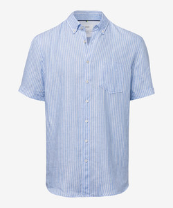 Brax Drake Button Down Summertime Blue