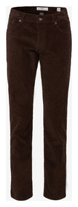 Brax Cooper Fancy Cotton Rib Bruin
