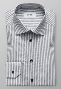 Eton Business Stripe Grijs