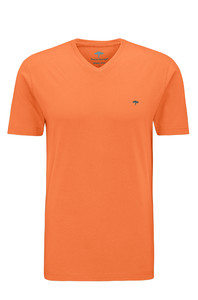 Fynch-Hatton V-Neck T-Shirt Abrikoos