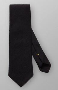 Eton Shantung Cotton Silk Black Melange Dark