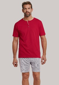 Schiesser Pajamas Endless Summer Red