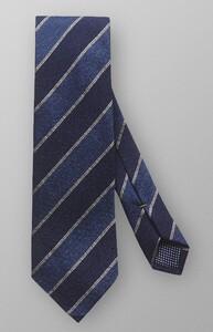 Eton Diagonal Silk Tie Navy