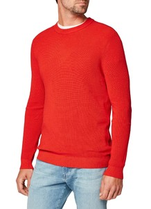 Maerz Cotton Uni Pullover Bloody Mary