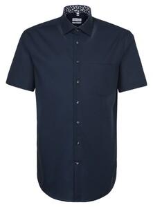 Seidensticker Uni Short Sleeve Navy
