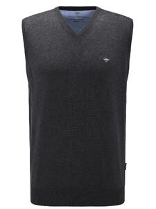 Fynch-Hatton Uni Slipover Superfine Cotton Zwart