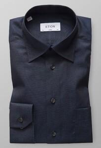 Eton Hidden Button Down Night Sky