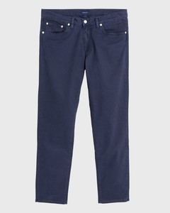 Gant Slim Straight Dusty Twill Jeans Navy