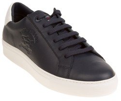 Paul & Shark Leather Crew Shoes Navy