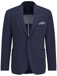 Fynch-Hatton Blazer Cotton Structure Navy