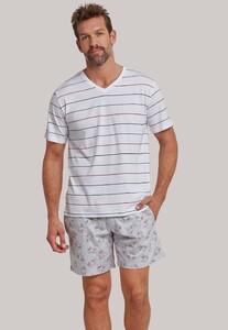 Schiesser Mix & Relax T-Shirt V-Neck Multi