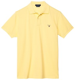 Gant Gant Piqué Polo Lemon