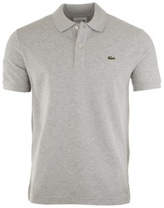 Lacoste Slim-Fit Piqué Polo Silver Chine