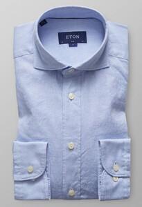 Eton Slim Royal Oxford Extreme Cutaway Diep Blauw