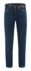 Com4 Wing-Front Denim Jeans Blauw