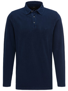 Fynch-Hatton Polo Longsleeve Midnight