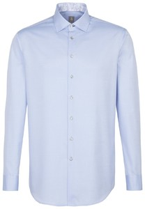 Jacques Britt Extra Long Sleeve Twill Uni Blauw
