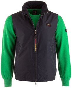 Paul & Shark Typhoon Flag Detail Body-Warmer Navy