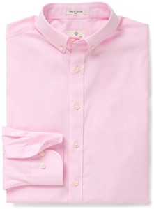 Gant Diamond G Pinpoint Oxford Fitted California Pink