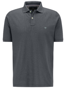 Fynch-Hatton Polo Uni Cotton Asphalt
