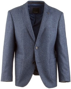 Roy Robson Shape Fit Outside Jacket Faux-Uni Twill Royal Blue