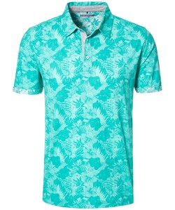 Pierre Cardin Polo Denim Academy Fantasy Groen