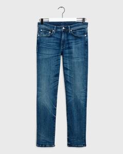 Gant Slim Active Recover Jeans Dark Blue Broken In