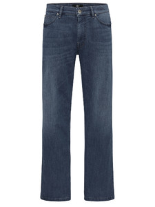 Fynch-Hatton Tanzania 5-Pocket Jeans Donker Blauw