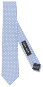 Seidensticker Dotted Tie Blauw
