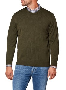 Maerz Round Neck Merino Superwash Hunter
