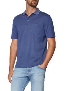 Maerz Uni Contrast Collar Cobalt Blue
