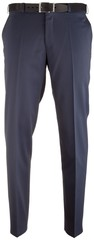 MENS Madrid Dunne Wollen Pantalon Royal Blue