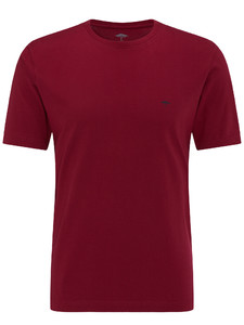 Fynch-Hatton Ronde Hals T-Shirt Berry