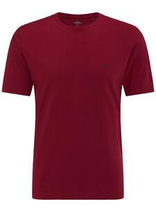 Fynch-Hatton Ronde Hals T-Shirt Berry