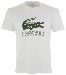 Lacoste Crocodile T-Shirt White