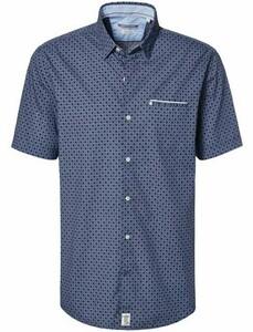 Pierre Cardin Minimal Structure Short Sleeve Blue