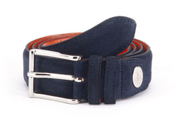 Greve Velvet Belt Night Blue Velvet