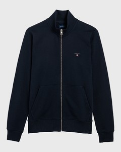 Gant The Original Full Zip Cardigan Avond Blauw