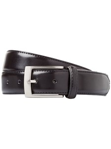 Gardeur Leather Belt Black