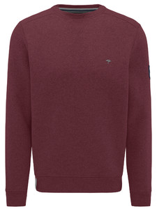 Fynch-Hatton O-Neck Sporty Sweat Indian Red
