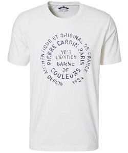 Pierre Cardin T-Shirt Denim Academy Off White