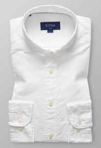 Eton Slim Royal Oxford Extreme Cutaway Wit