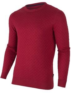 Cavallaro Napoli Structuro Pullover Red