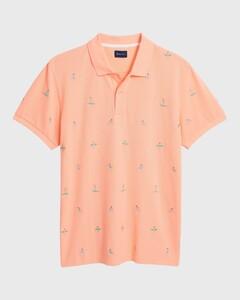 Gant Surfer Poloshirt Peach Bud