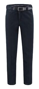 Com4 Wing-Front Denim Jeans Donker Blauw